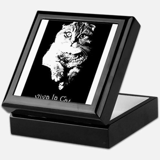 Viva La Cat Keepsake Box