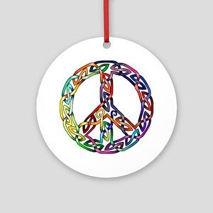 Pride and Peace Ornament (Round)