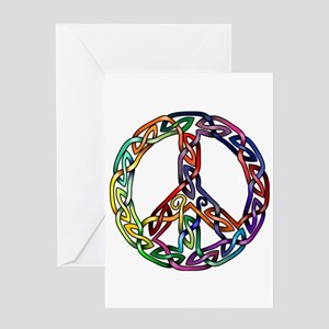 Pride and Peace Greeting Card