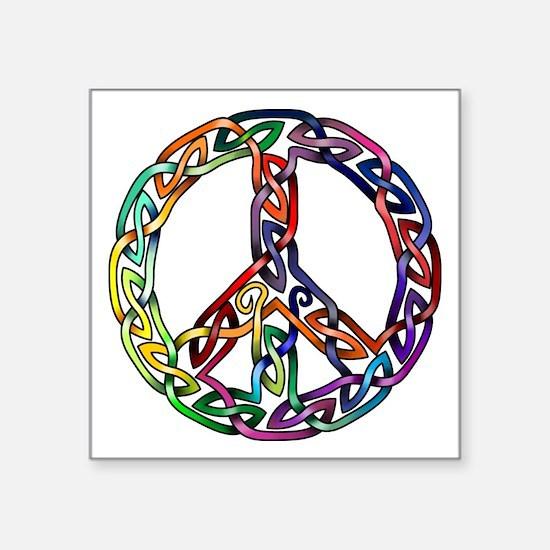 Pride and Peace Sticker