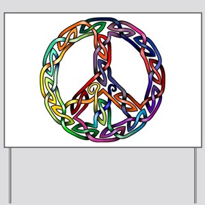 Pride and Peace Yard Sign