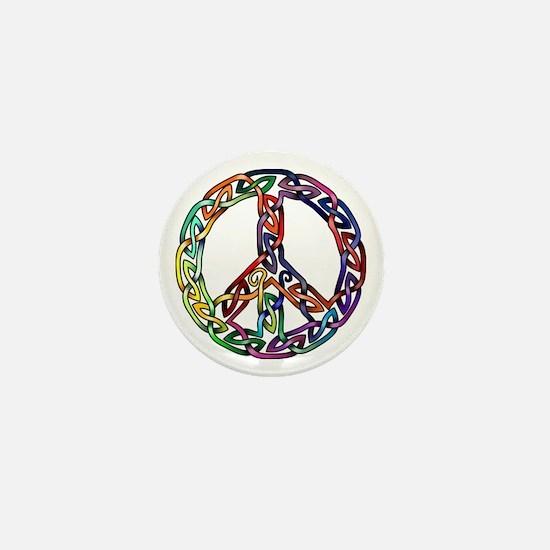 Pride and Peace Mini Button