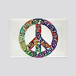 Pride and Peace Rectangle Magnet
