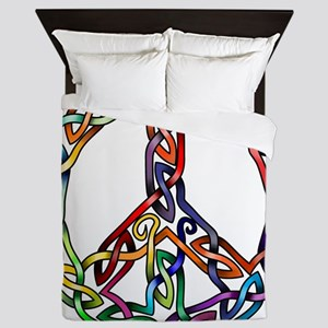 Pride and Peace Queen Duvet