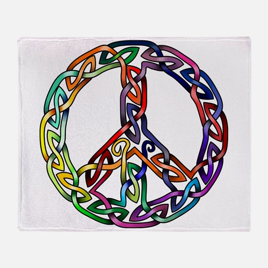 Pride and Peace Throw Blanket