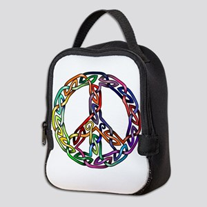 Pride and Peace Neoprene Lunch Bag