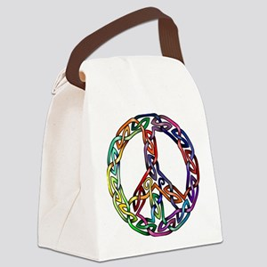 Pride and Peace Canvas Lunch Bag