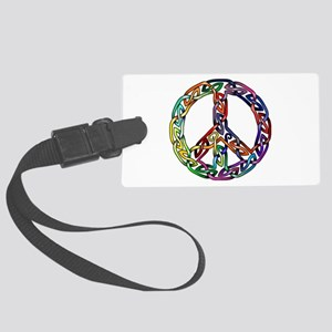 Pride and Peace Luggage Tag