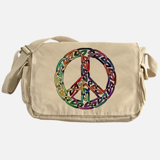 Pride and Peace Messenger Bag