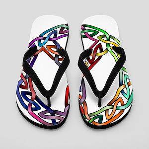Pride and Peace Flip Flops