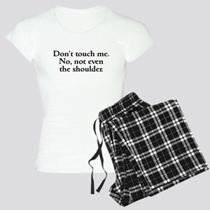 Don't touch me Women's Light Pajamas