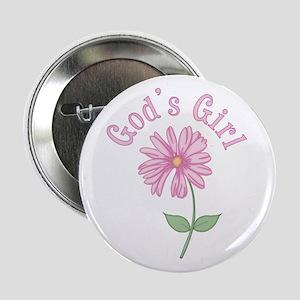 God's Girl Button