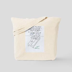 Strokin' Tote Bag