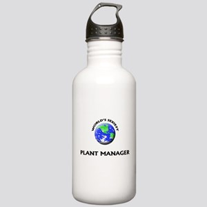World's Sexiest Plant Manager Water Bottle