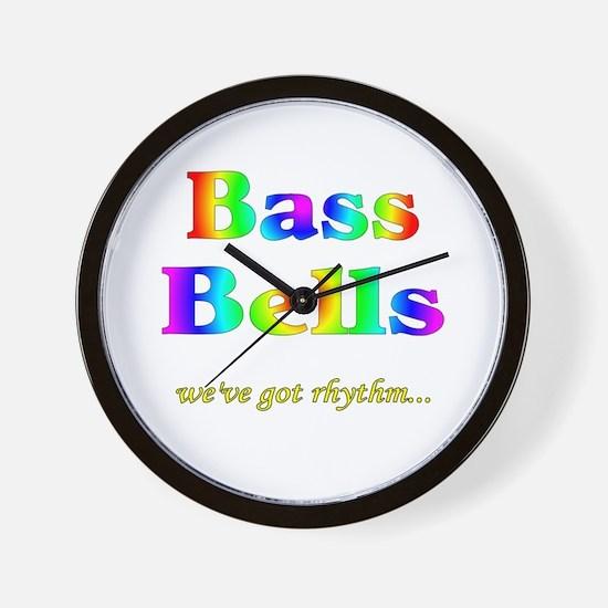 Bass Bells Wall Clock
