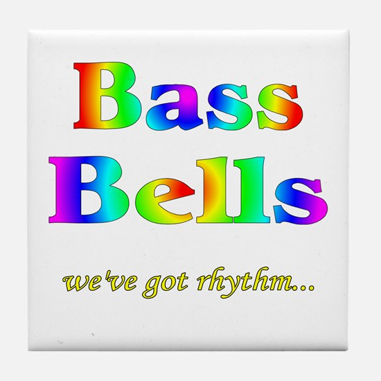 Bass Bells Tile Coaster