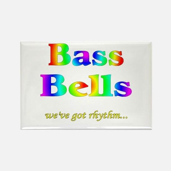 Bass Bells Rectangle Magnet