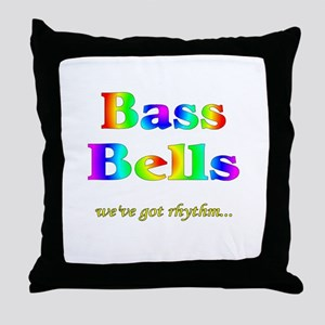 Bass Bells Throw Pillow