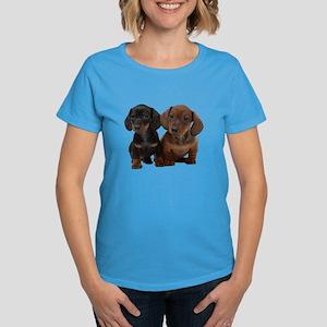 Dachshunds Women's Dark T-Shirt
