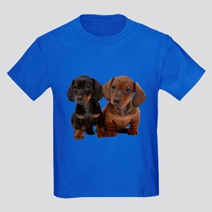 Dachshunds Kids Dark T-Shirt