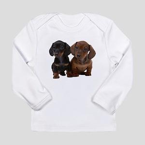 Dachshunds Long Sleeve Infant T-Shirt