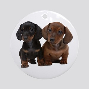 Dachshunds Ornament (Round)