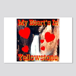 My Heart's In Yellowstone Postcards (Package of 8)