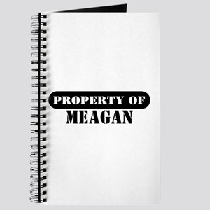 Property of Meagan Journal