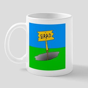 brad pitt Mug