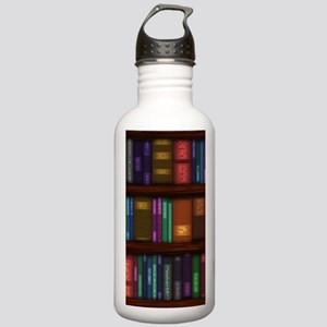 Old Bookshelves Stainless Water Bottle 1.0L
