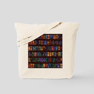 Old Bookshelves Tote Bag