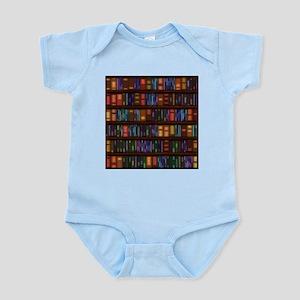 Old Bookshelves Infant Bodysuit