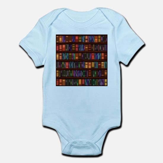 Old Bookshelves Infant Bodysuit