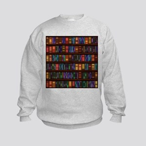 Old Bookshelves Kids Sweatshirt