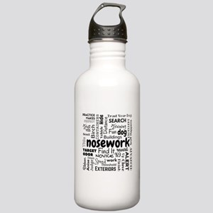 Fun With Nosework Stainless Water Bottle 1.0l