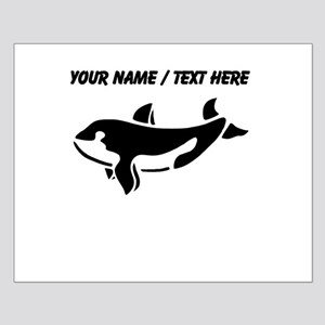 Personalized Black Killer Whale Posters