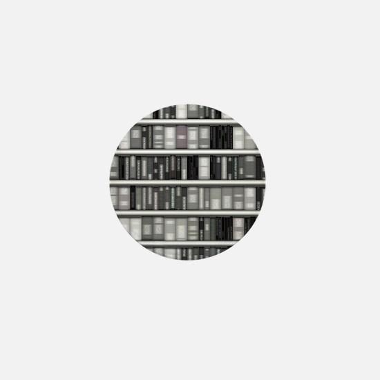 Modern Bookshelf Mini Button