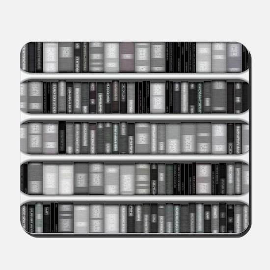 Modern Bookshelf Mousepad