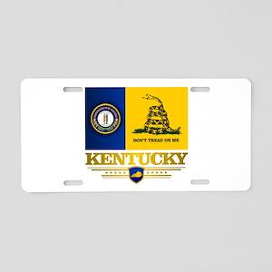 Kentucky Gadsden Flag Aluminum License Plate