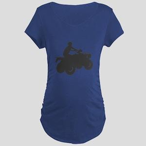 4 Wheeler AVT Maternity Dark T-Shirt