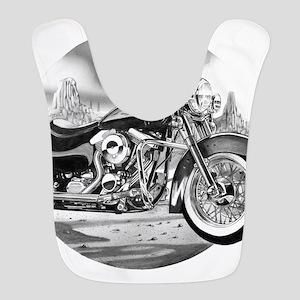 Motorcycle Polyester Baby Bib