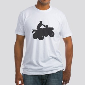4 Wheeler AVT Fitted T-Shirt