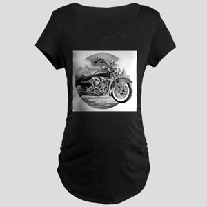 Motorcycle Maternity T-Shirt