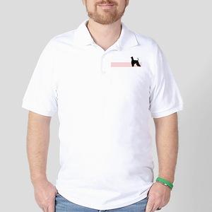Retro Afghan Hound Golf Shirt