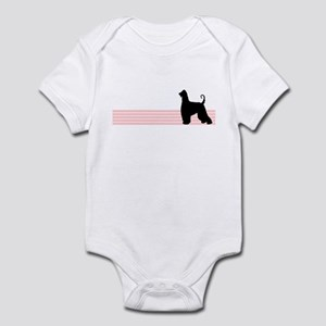 Retro Afghan Hound Infant Bodysuit