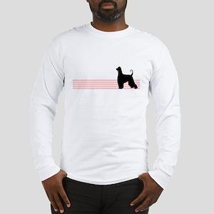 Retro Afghan Hound Long Sleeve T-Shirt