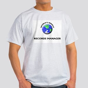 World's Sexiest Records Manager T-Shirt