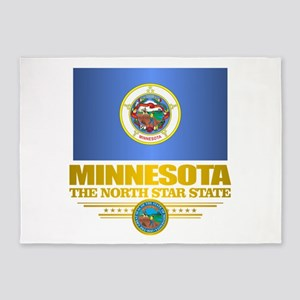 Minnesota Pride 5'x7'Area Rug