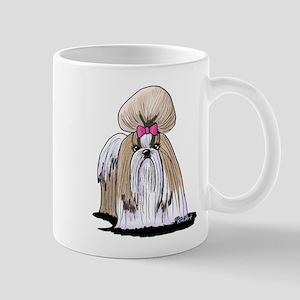 KiniArt Shih Tzu Show Girl Mug