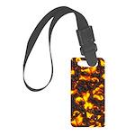 Hot Lava Small Luggage Tag